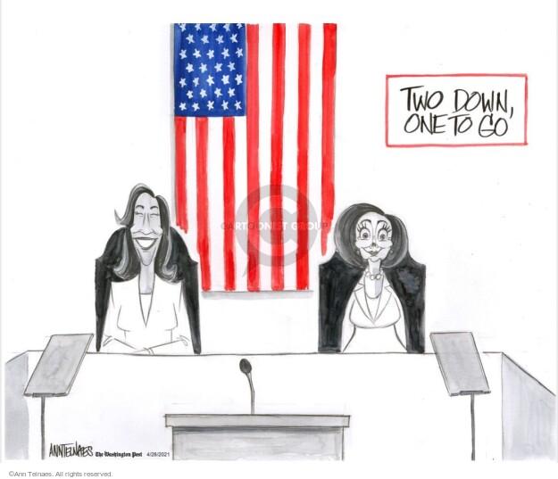 Ann Telnaes  Ann Telnaes' Editorial Cartoons 2021-04-28 Joe
