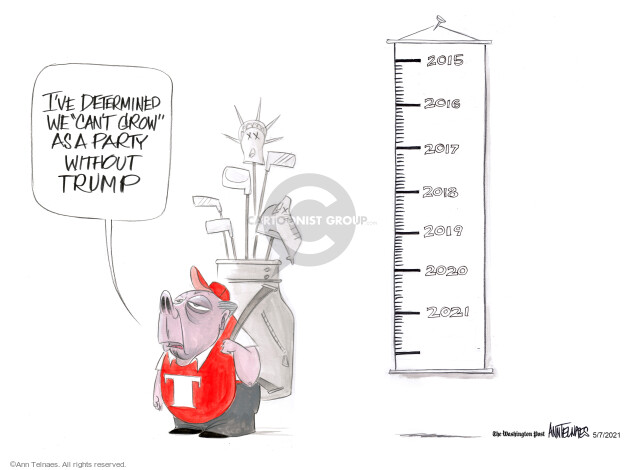 Ann Telnaes  Ann Telnaes' Editorial Cartoons 2021-05-07 party