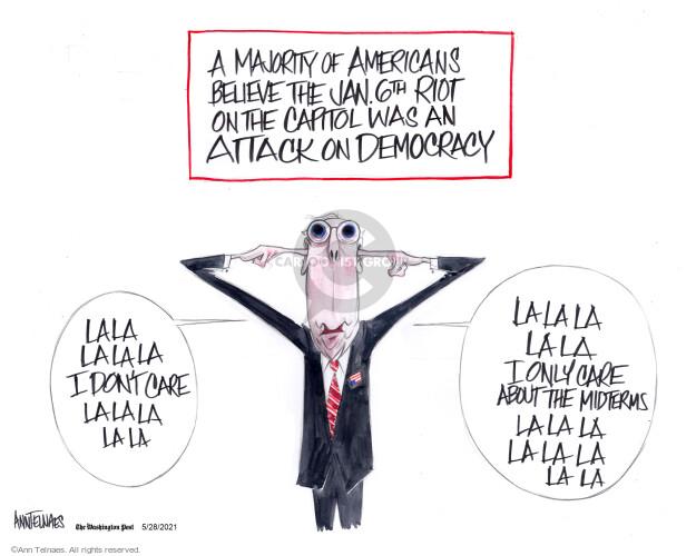 Ann Telnaes  Ann Telnaes' Editorial Cartoons 2021-05-28 congressional investigation