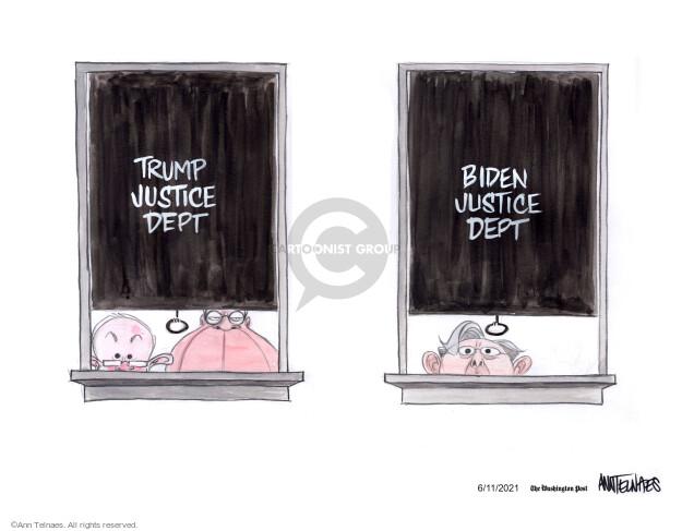Ann Telnaes  Ann Telnaes' Editorial Cartoons 2021-06-11 Joe