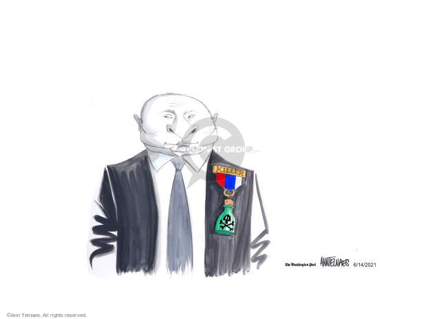 Ann Telnaes  Ann Telnaes' Editorial Cartoons 2021-06-14 president