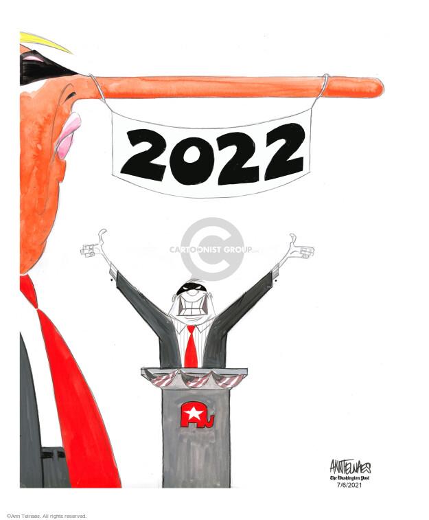Ann Telnaes  Ann Telnaes' Editorial Cartoons 2021-07-06 president