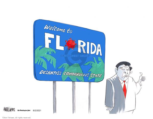 Ann Telnaes  Ann Telnaes' Editorial Cartoons 2021-08-02 virus