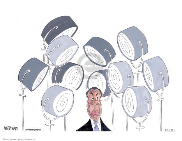 Ann Telnaes  Ann Telnaes' Editorial Cartoons 2021-08-03 state politician