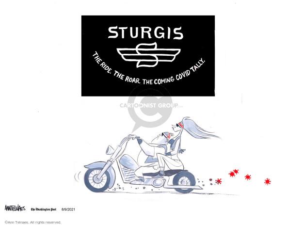 Ann Telnaes  Ann Telnaes' Editorial Cartoons 2021-08-09 virus