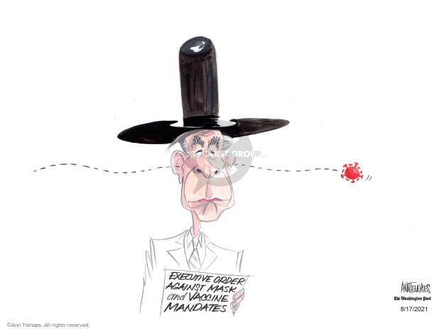Ann Telnaes  Ann Telnaes' Editorial Cartoons 2021-08-17 virus