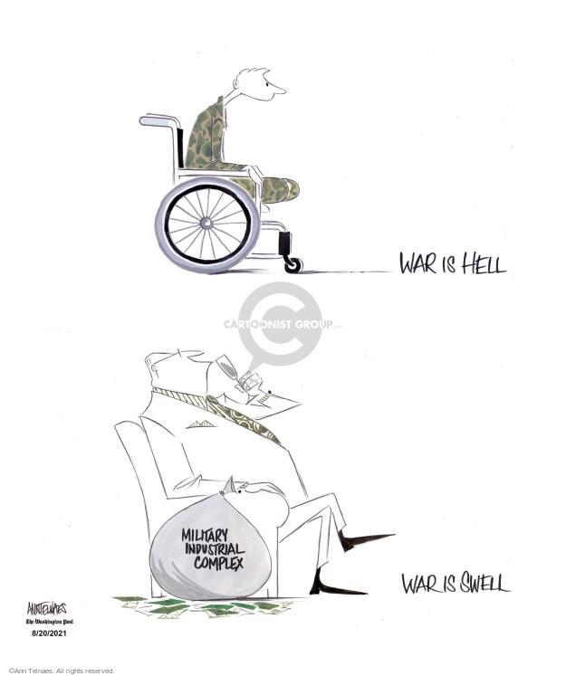 Ann Telnaes  Ann Telnaes' Editorial Cartoons 2021-08-20 war