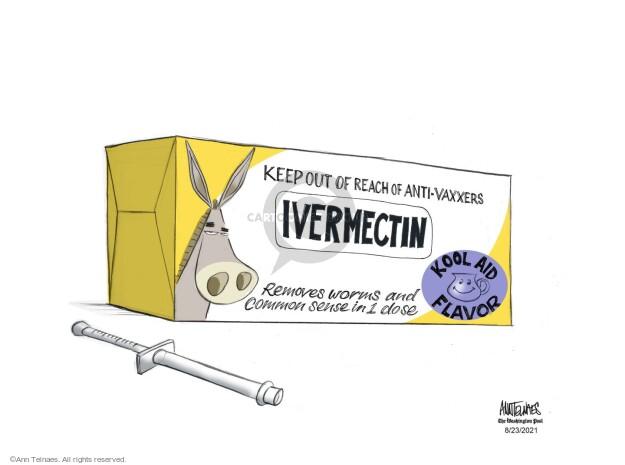 Ann Telnaes  Ann Telnaes' Editorial Cartoons 2021-08-23 virus