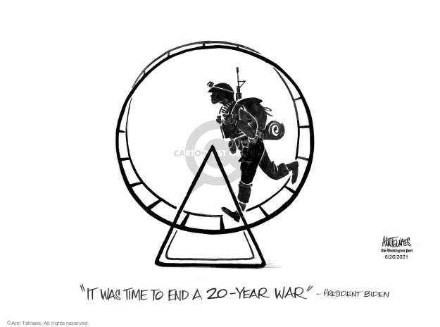 Ann Telnaes  Ann Telnaes' Editorial Cartoons 2021-08-26 Joe
