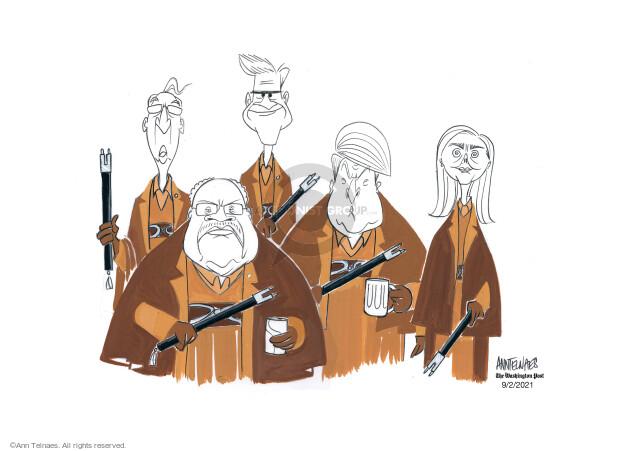 Ann Telnaes  Ann Telnaes' Editorial Cartoons 2021-09-02 Ann