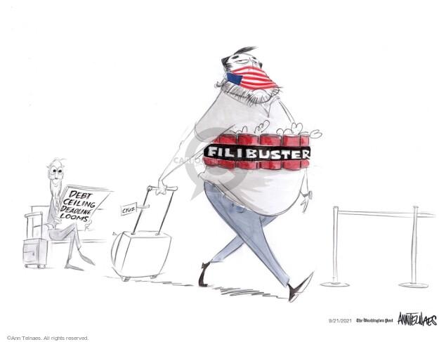 Ann Telnaes  Ann Telnaes' Editorial Cartoons 2021-09-21 Ann