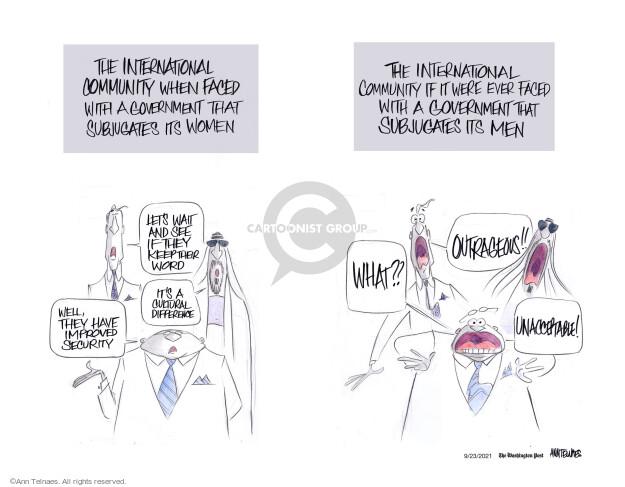 Ann Telnaes  Ann Telnaes' Editorial Cartoons 2021-09-23 Ann