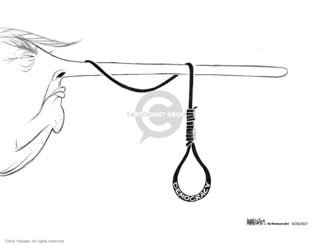 Ann Telnaes  Ann Telnaes' Editorial Cartoons 2021-09-26 president
