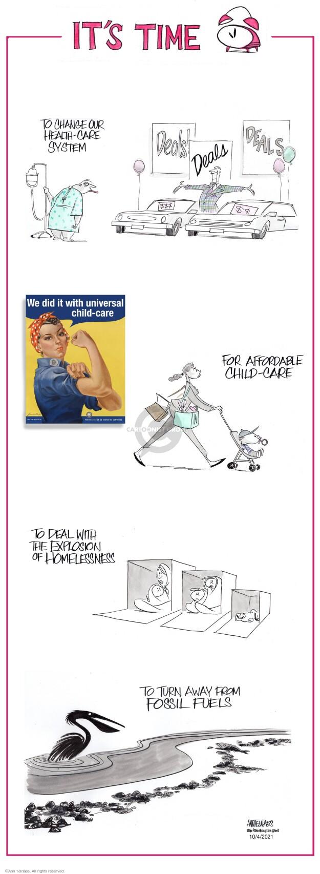 Ann Telnaes  Ann Telnaes' Editorial Cartoons 2021-10-04 Ann