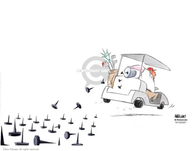 Ann Telnaes  Ann Telnaes' Editorial Cartoons 2021-10-18 president
