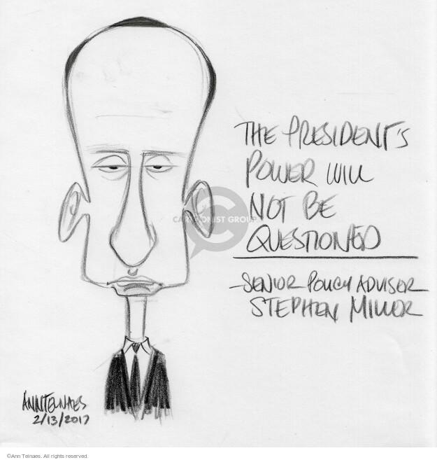 Ann Telnaes  Ann Telnaes' Editorial Cartoons 2017-02-13 not