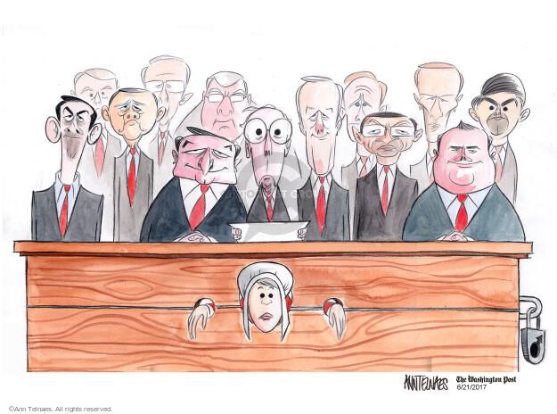Ann Telnaes  Ann Telnaes' Editorial Cartoons 2017-06-21 Bill of Rights