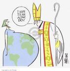Cartoonist Ann Telnaes  Ann Telnaes' Editorial Cartoons 2002-05-06 Catholic Church