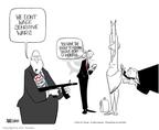 Ann Telnaes  Ann Telnaes' Editorial Cartoons 2004-08-13 sexism