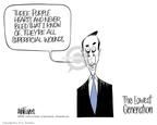 Cartoonist Ann Telnaes  Ann Telnaes' Editorial Cartoons 2004-08-23 criticism