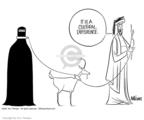 Cartoonist Ann Telnaes  Ann Telnaes' Editorial Cartoons 2001-11-29 man