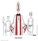 Cartoonist Ann Telnaes  Ann Telnaes' Editorial Cartoons 2002-03-26 Catholic Church