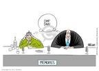 Cartoonist Ann Telnaes  Ann Telnaes' Editorial Cartoons 2002-03-29 bank