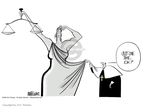 Cartoonist Ann Telnaes  Ann Telnaes' Editorial Cartoons 2002-06-12 under