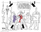 Cartoonist Ann Telnaes  Ann Telnaes' Editorial Cartoons 2002-11-26 their