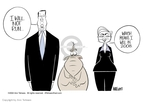 Cartoonist Ann Telnaes  Ann Telnaes' Editorial Cartoons 2002-12-16 Al Gore