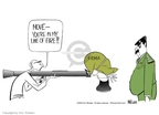 Ann Telnaes  Ann Telnaes' Editorial Cartoons 2002-12-26 North Korea