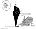 Cartoonist Ann Telnaes  Ann Telnaes' Editorial Cartoons 2003-01-15 little