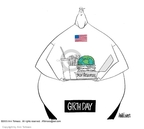 Cartoonist Ann Telnaes  Ann Telnaes' Editorial Cartoons 2003-04-21 world
