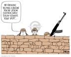 Cartoonist Ann Telnaes  Ann Telnaes' Editorial Cartoons 2003-05-14 deputy