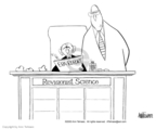 Cartoonist Ann Telnaes  Ann Telnaes' Editorial Cartoons 2003-06-22 science
