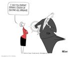 Cartoonist Ann Telnaes  Ann Telnaes' Editorial Cartoons 2003-10-08 food