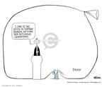 Cartoonist Ann Telnaes  Ann Telnaes' Editorial Cartoons 2003-10-10 debt