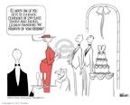 Cartoonist Ann Telnaes  Ann Telnaes' Editorial Cartoons 2003-11-21 being