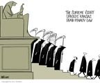 Ann Telnaes  Ann Telnaes' Editorial Cartoons 2006-06-28 capital punishment