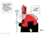 Cartoonist Ann Telnaes  Ann Telnaes' Editorial Cartoons 2006-10-03 being