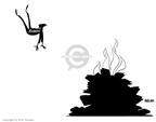 Cartoonist Ann Telnaes  Ann Telnaes' Editorial Cartoons 2007-06-23 being