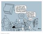 Cartoonist Ann Telnaes  Ann Telnaes' Editorial Cartoons 2007-11-14 budget