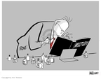 Cartoonist Ann Telnaes  Ann Telnaes' Editorial Cartoons 2007-12-03 Karl