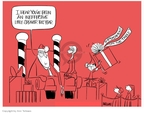 Cartoonist Ann Telnaes  Ann Telnaes' Editorial Cartoons 2007-12-17 veep