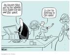 Ann Telnaes  Ann Telnaes' Editorial Cartoons 2008-01-09 sexism