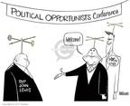 Ann Telnaes  Ann Telnaes' Editorial Cartoons 2008-02-17 2008 election
