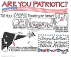 Cartoonist Ann Telnaes  Ann Telnaes' Editorial Cartoons 2008-02-26 pledge of allegiance