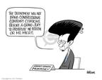 Cartoonist Ann Telnaes  Ann Telnaes' Editorial Cartoons 2008-03-01 attorney general