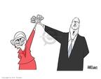 Cartoonist Ann Telnaes  Ann Telnaes' Editorial Cartoons 2008-03-05 2008 election