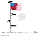 Cartoonist Ann Telnaes  Ann Telnaes' Editorial Cartoons 2003-06-13 fourth amendment